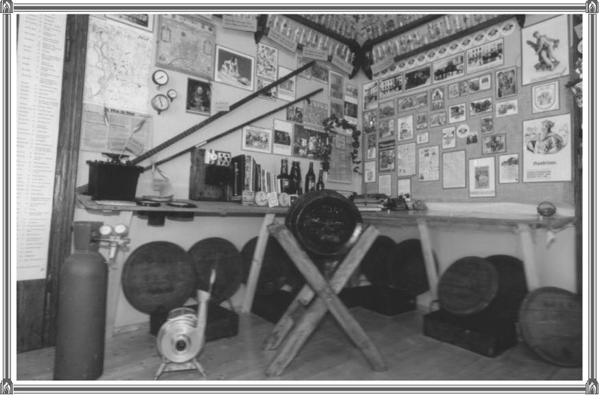 Einrichten eines Brauerei-Museums