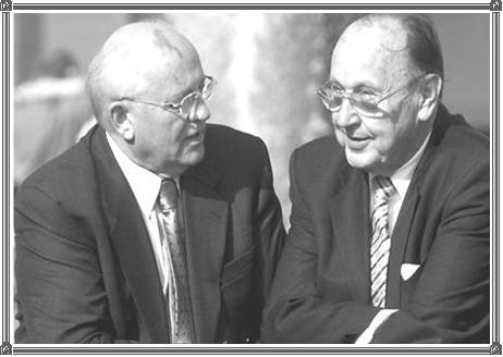 Gorbatschow und Genscher waren 2000 zu Gast
