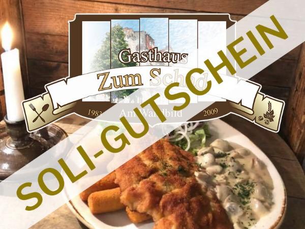 """Soli-Gutschein: 4 Bier zahlen und 5 bekommen im Gasthaus """"zum Schad"""""""